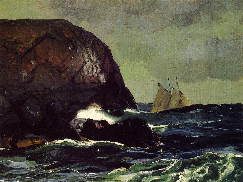 Churn And Break by George Wesley Bellows