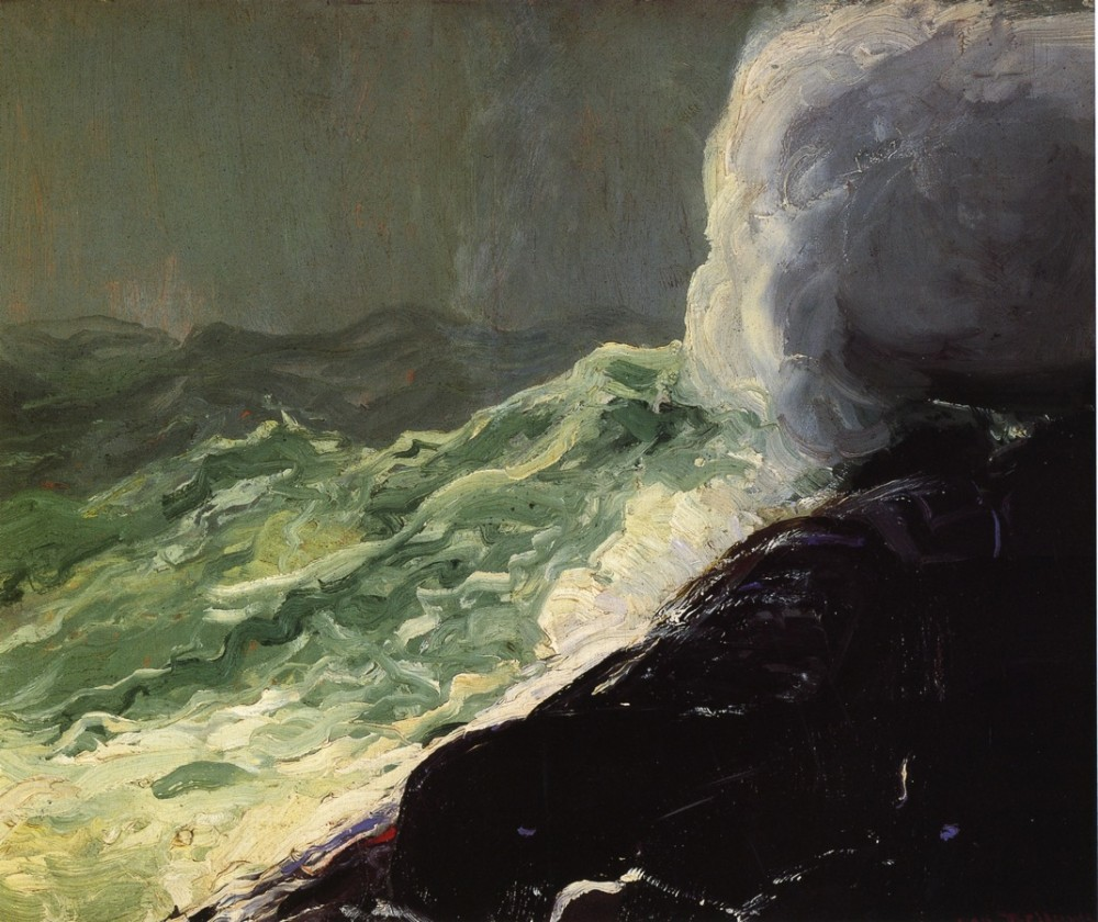 Evening Swell by George Wesley Bellows