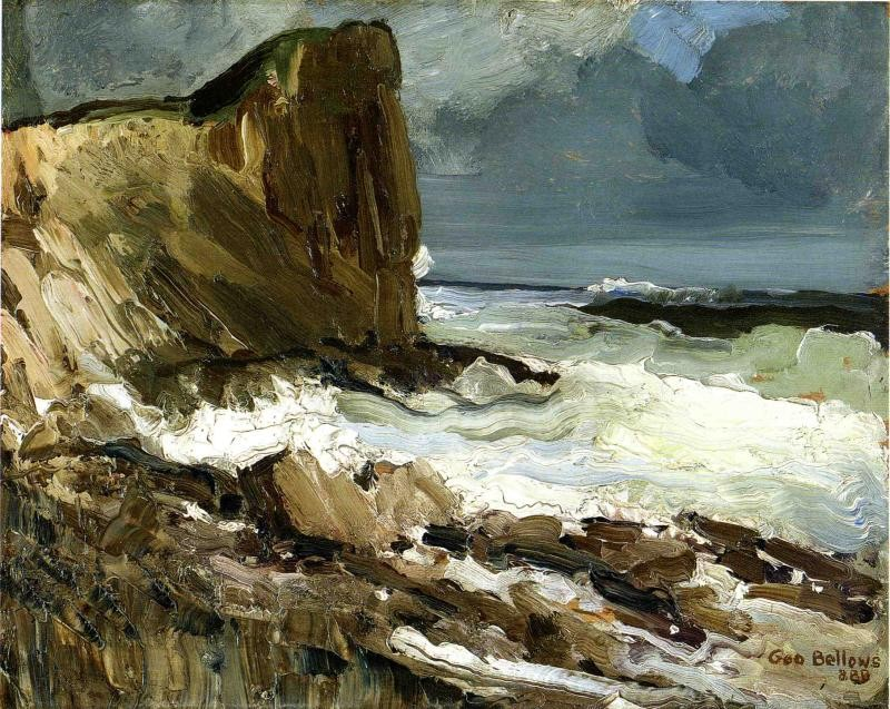 Iron Coast Monhegan by George Wesley Bellows
