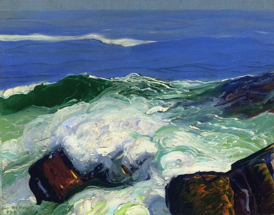 Rock Bound by George Wesley Bellows
