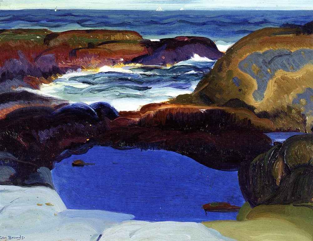 The Grey Sea by George Wesley Bellows