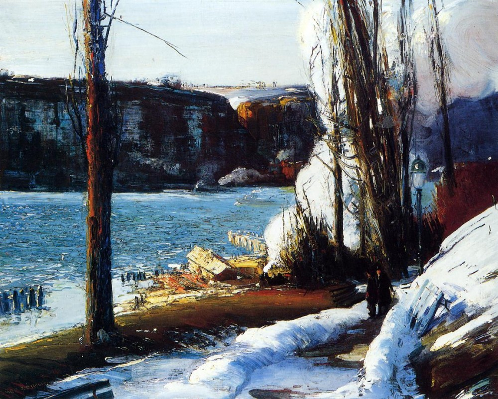 Tide Ledge by George Wesley Bellows
