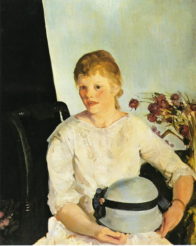 Mrs Richter by George Wesley Bellows