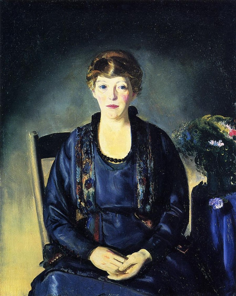 Portrait Of My Mother by George Wesley Bellows