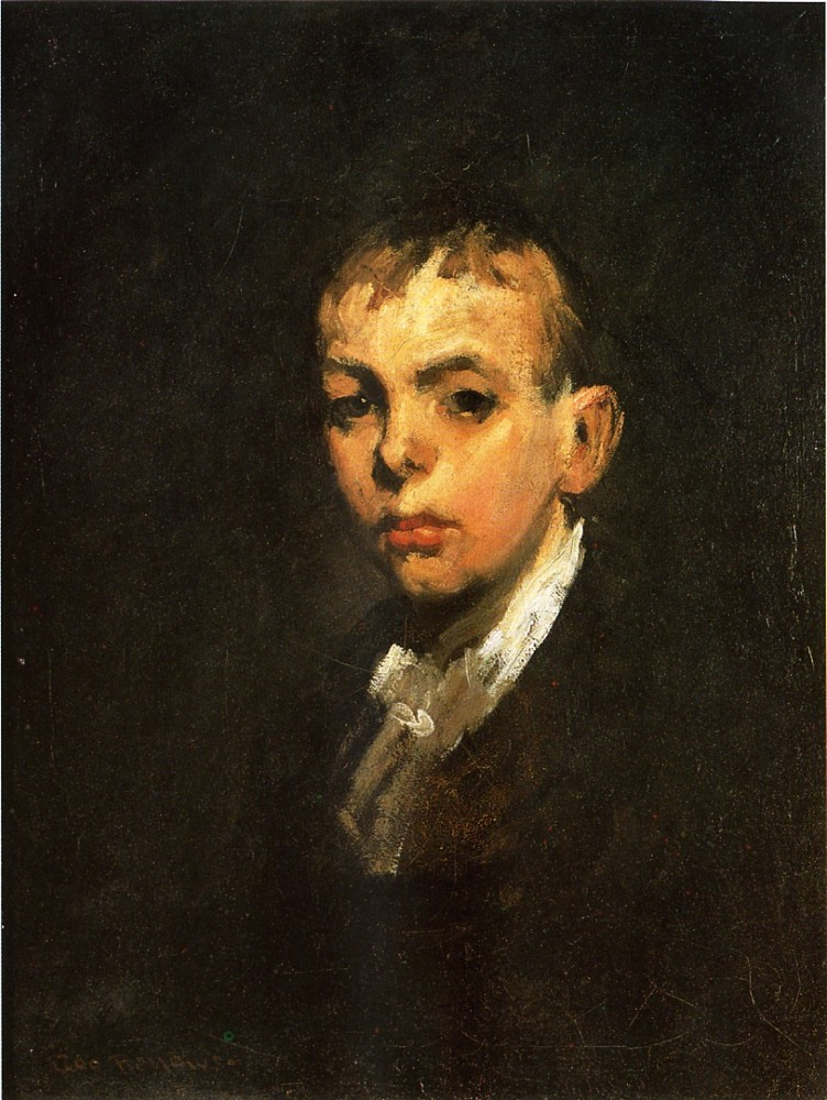 Frankie The Organ Boy by George Wesley Bellows