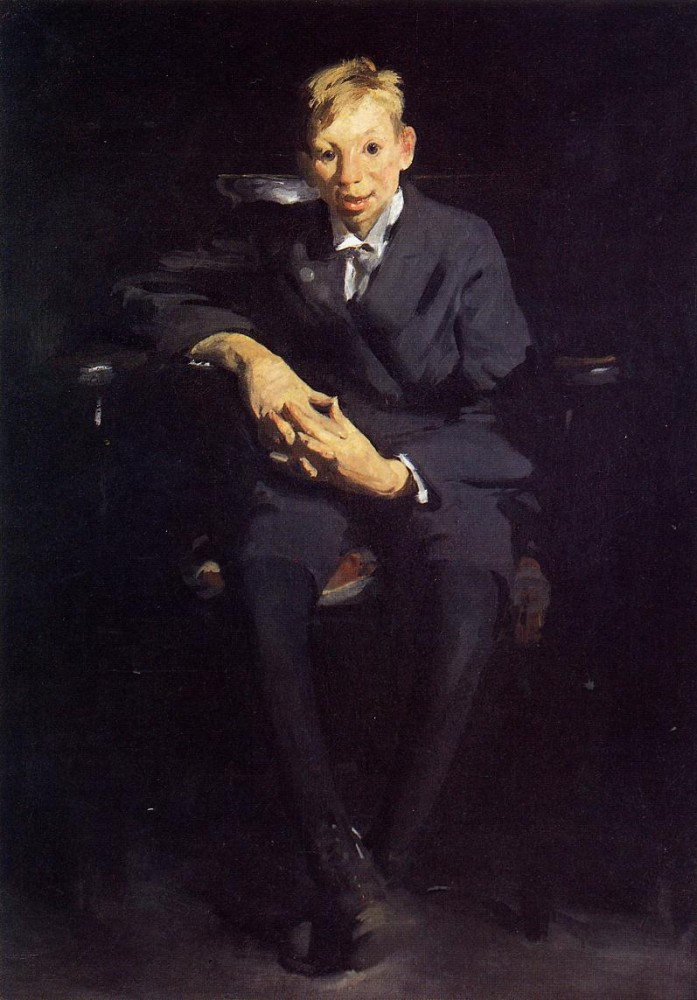 Portrait Of Dr Walter Quincy Scott by George Wesley Bellows