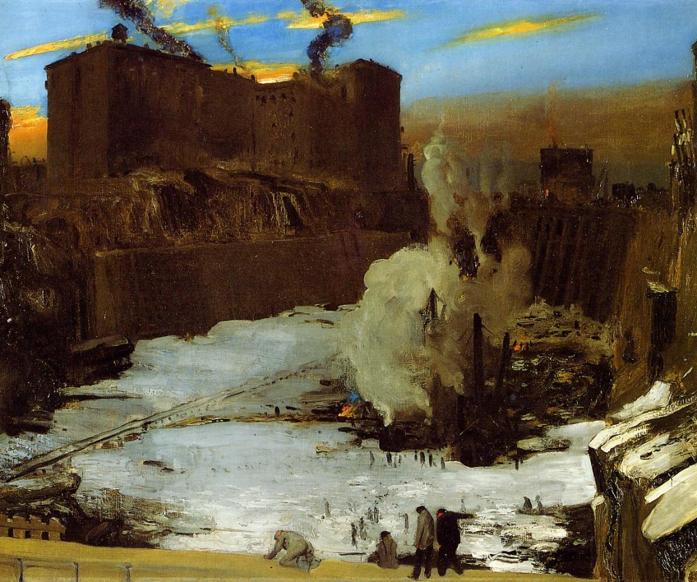 Summer City by George Wesley Bellows
