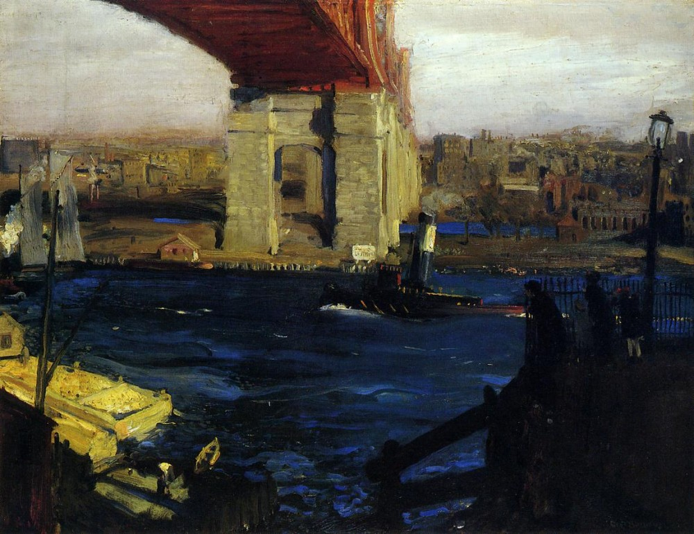 Criehaven Large by George Wesley Bellows