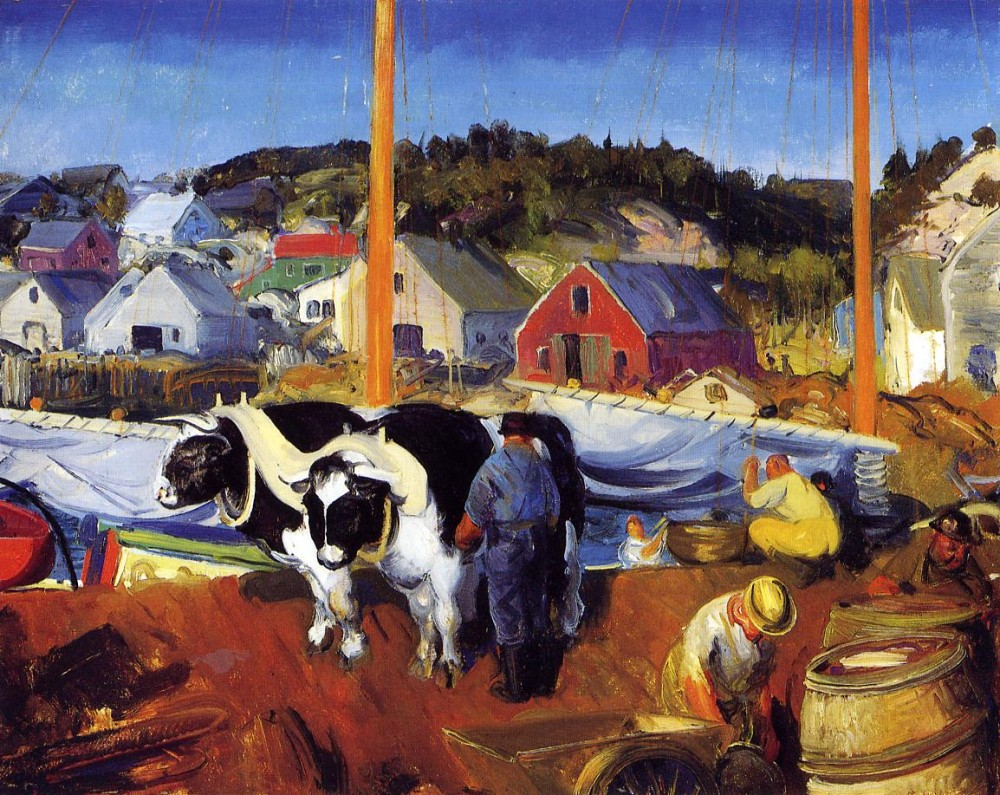 The Teamster by George Wesley Bellows