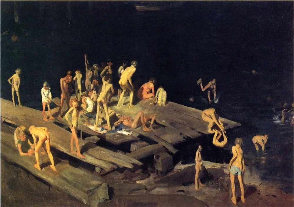 Men Of The Docks by George Wesley Bellows