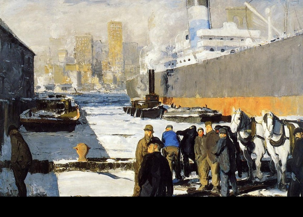 The Rope by George Wesley Bellows