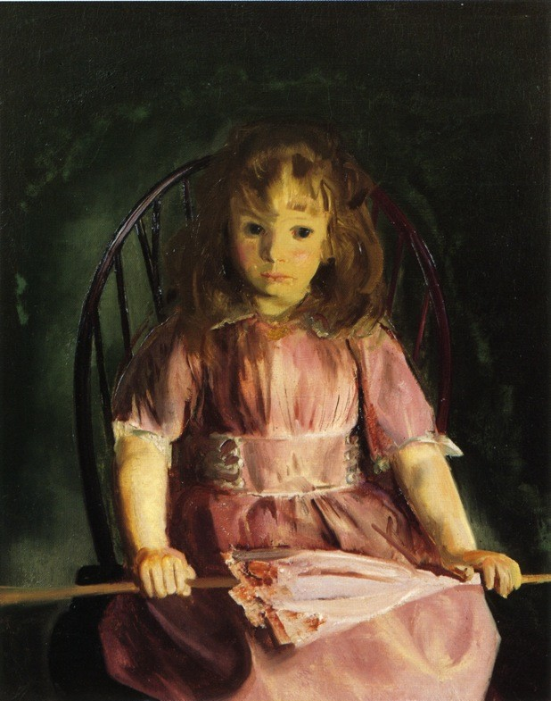 Portrait Of Anne by George Wesley Bellows