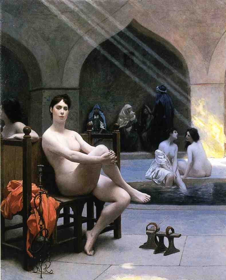 The Women's Bath by Jean-Léon Gérôme