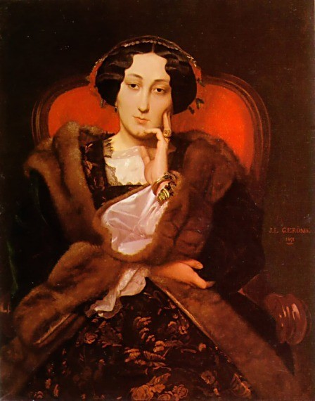 Portrait of a Lady2 by Jean-Léon Gérôme