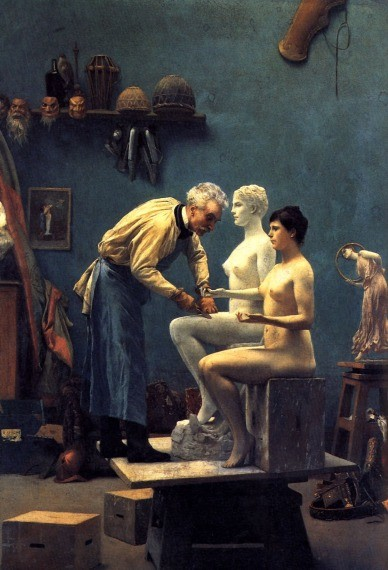 Working in Marble by Jean-Léon Gérôme