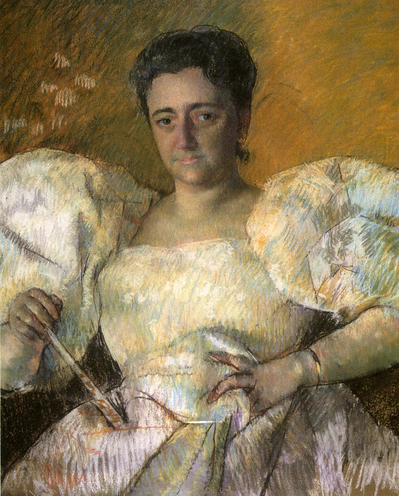 Louisine W Havemeyer by Mary Stevenson Cassatt