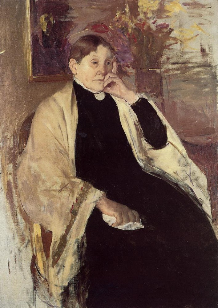 Mrs. Robert S. Cassatt aka Katherine Kelson Johnston Cassatt by Mary Stevenson Cassatt
