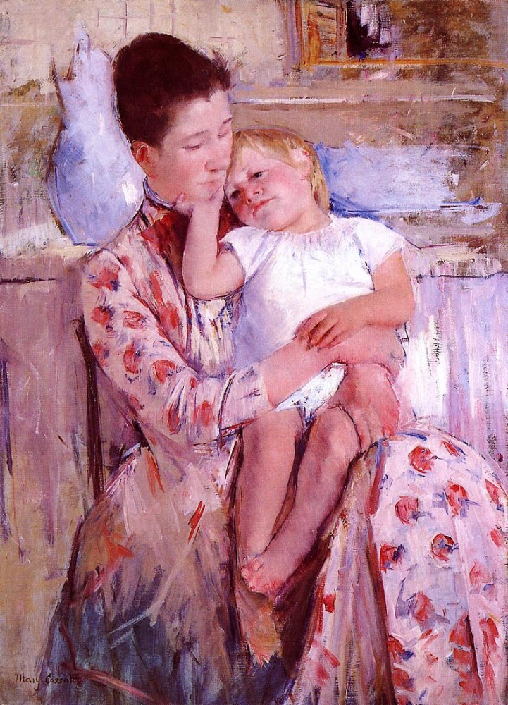 Emmie and Her Child by Mary Stevenson Cassatt