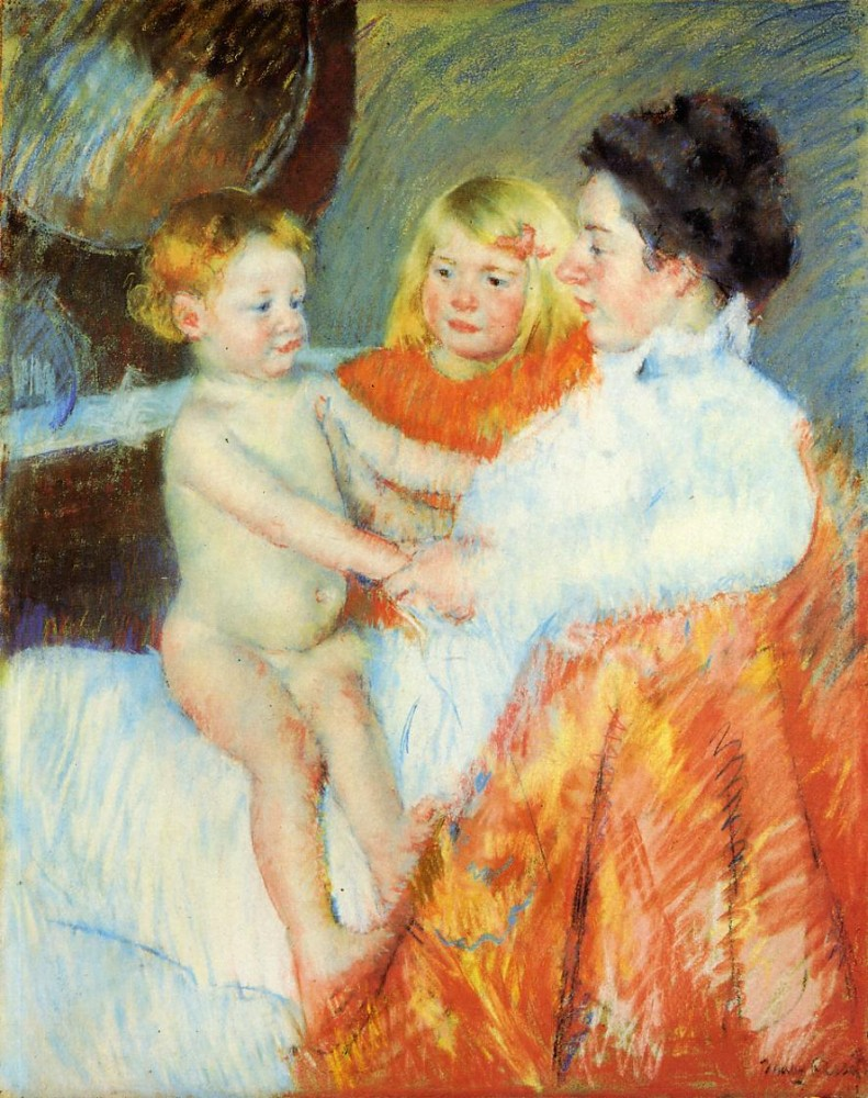 Mother Sara and the Baby by Mary Stevenson Cassatt