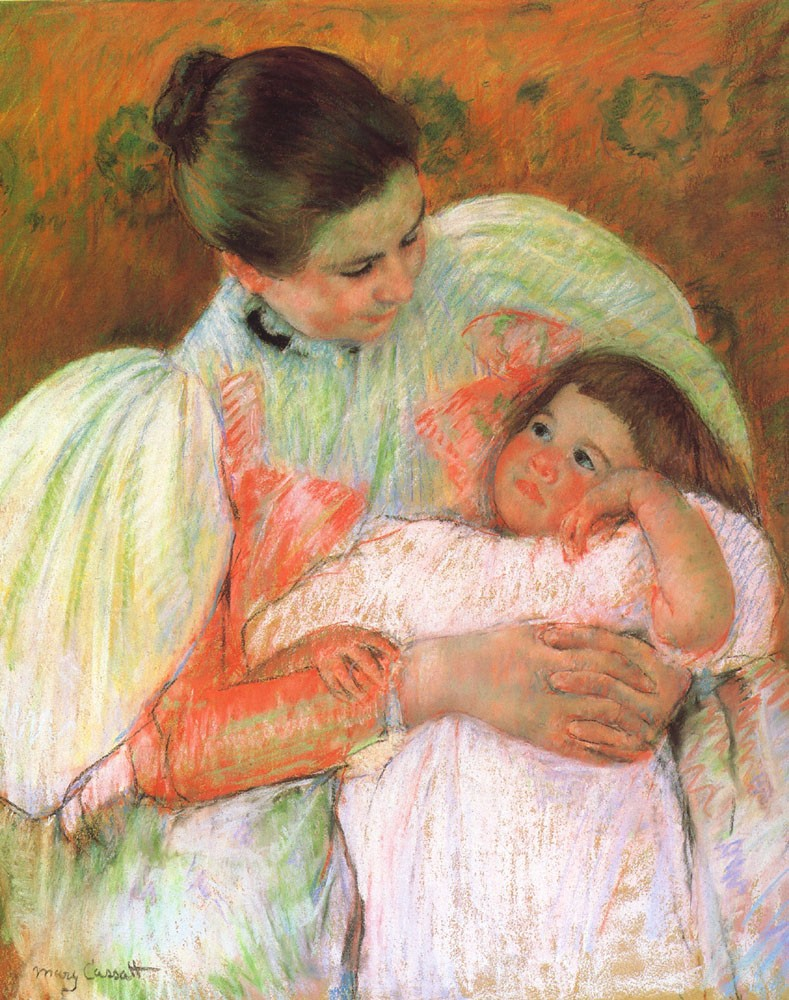 Nurse and Child by Mary Stevenson Cassatt