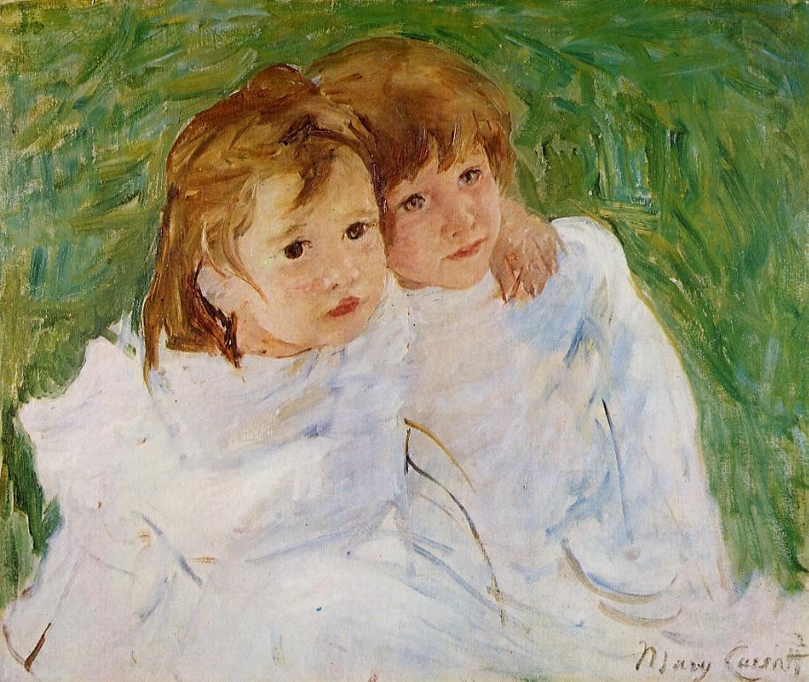 The Sisters by Mary Stevenson Cassatt