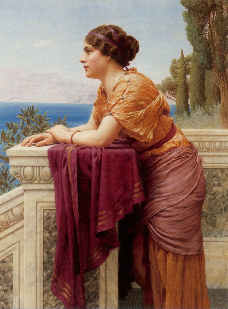 The Belvedere by John William Godward