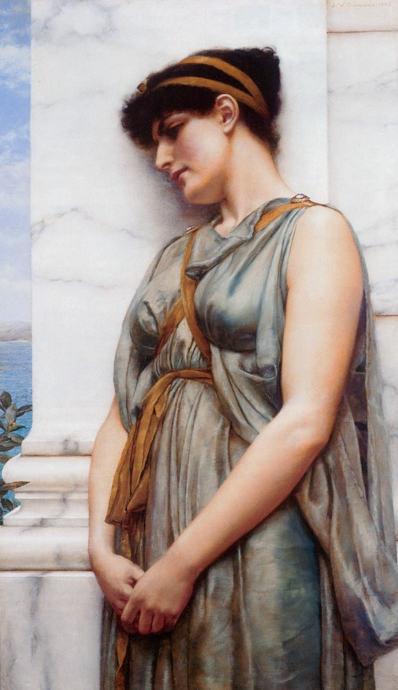 Grecian Reverie by John William Godward