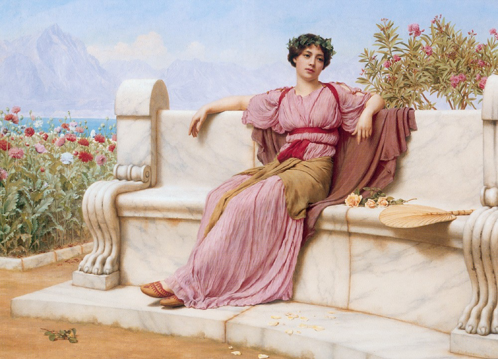 Tranquillity by John William Godward