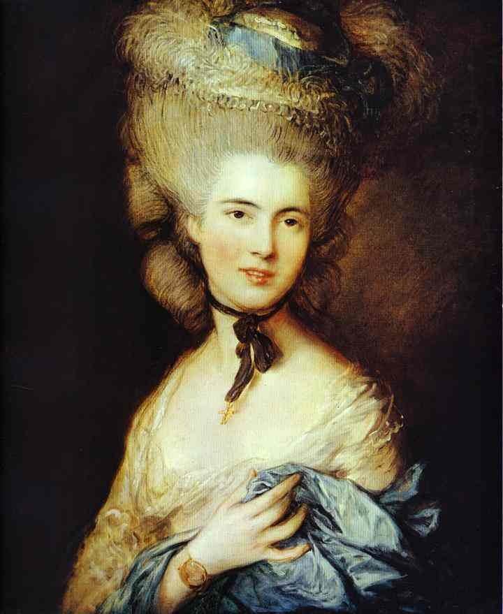 Duchess Of Beaufort by Thomas Gainsborough