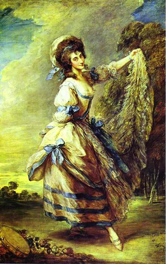 Giovanna Baccelli by Thomas Gainsborough
