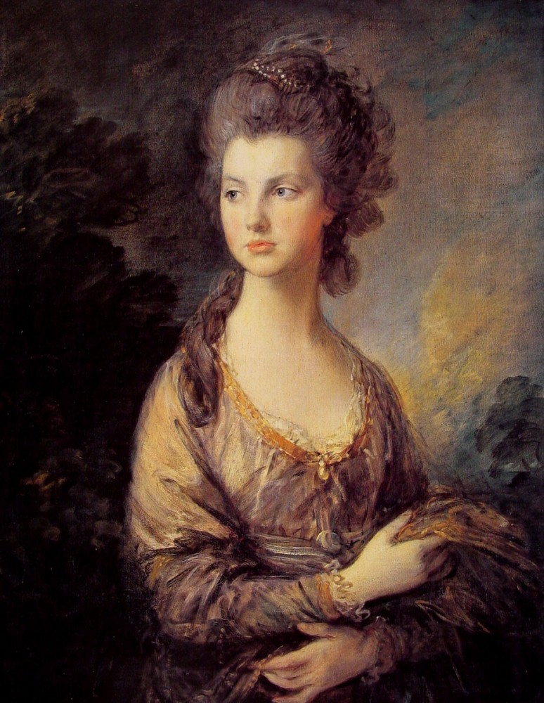 Mrs Graham by Thomas Gainsborough