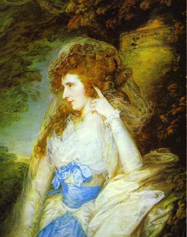 Mary Lady Bate Dudley by Thomas Gainsborough