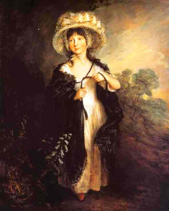 Miss Haverfield by Thomas Gainsborough