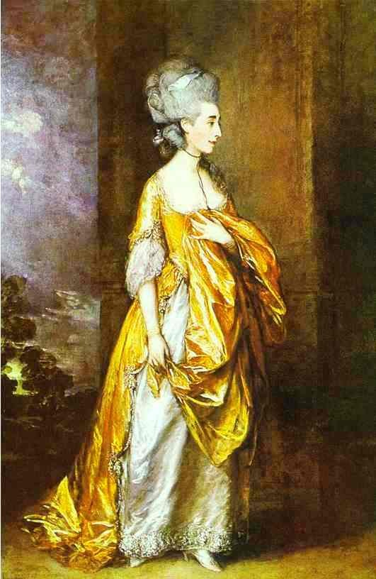 Mrs Elliot by Thomas Gainsborough
