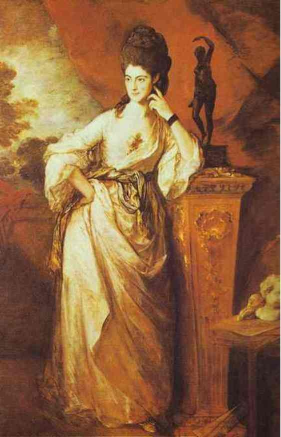 Penelope Viscountess Ligonier by Thomas Gainsborough