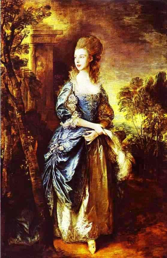 The Hon Frances Duncombe by Thomas Gainsborough