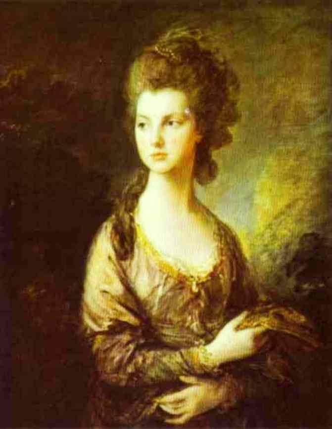The Honorable Mrs Graham by Thomas Gainsborough