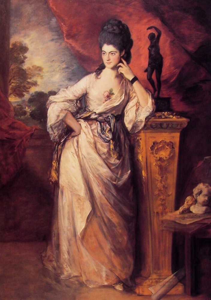 Lady Ligonier by Thomas Gainsborough