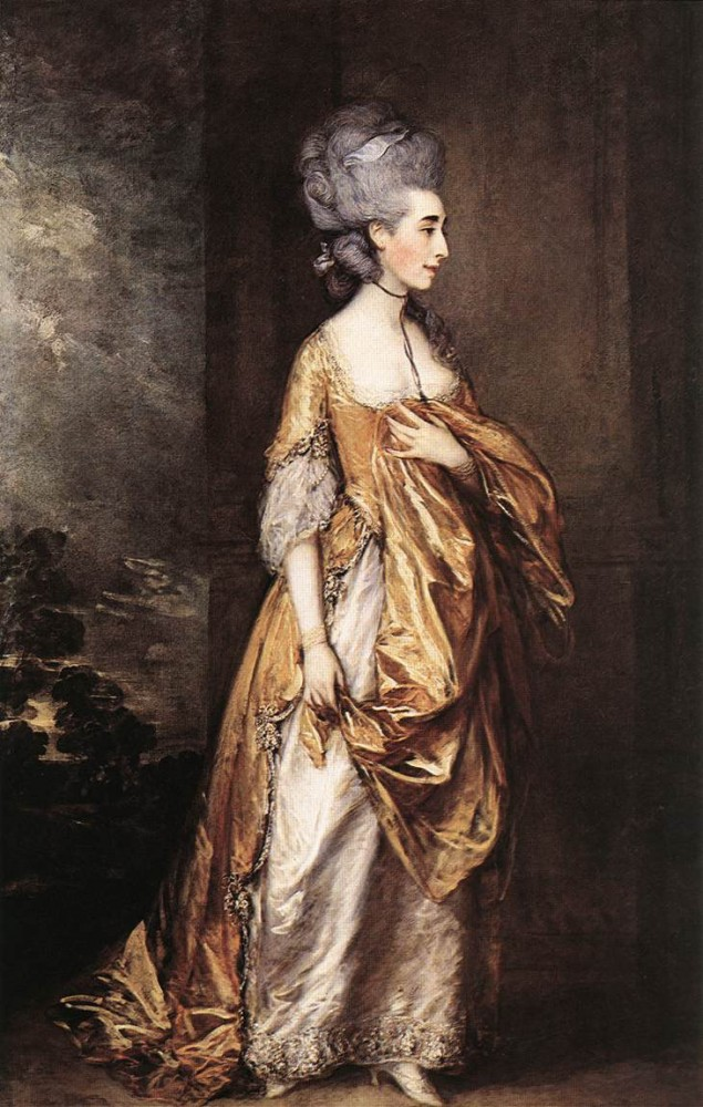 Mrs Grace Dalrymple Elliott by Thomas Gainsborough