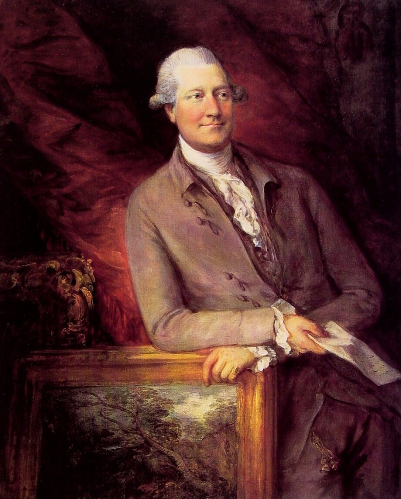 James Christie by Thomas Gainsborough