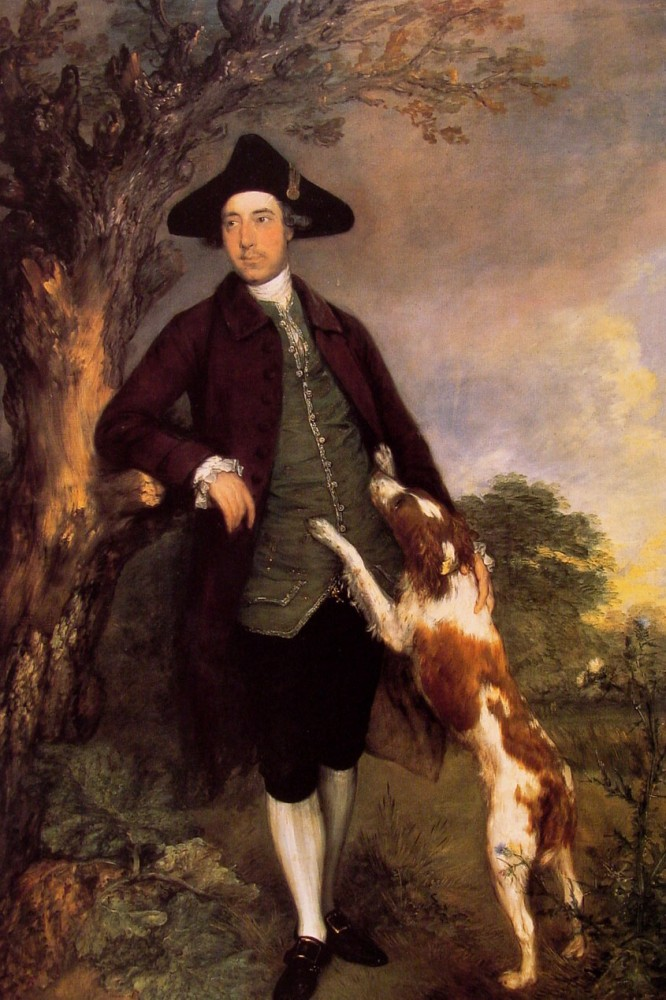 Lord Vernon by Thomas Gainsborough