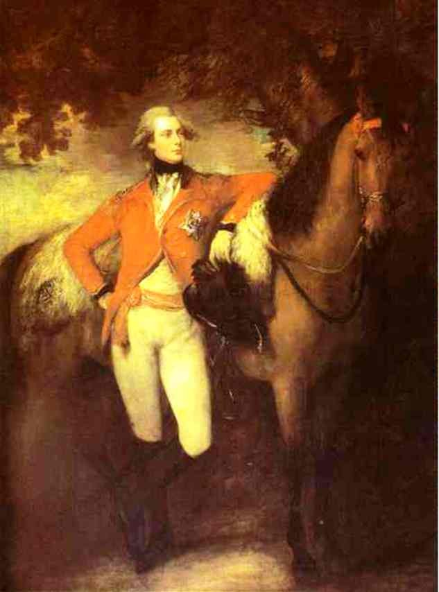 George Prince Of Wales Later George Iv by Thomas Gainsborough