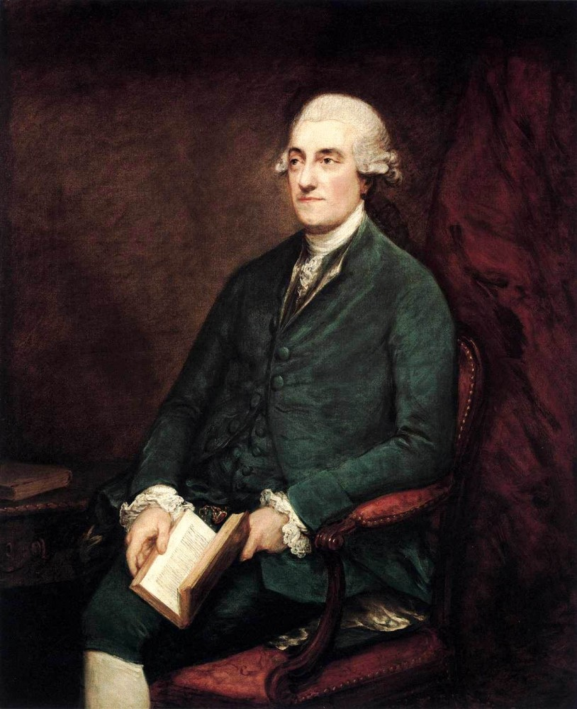 Isaac Henrique Sequeira by Thomas Gainsborough