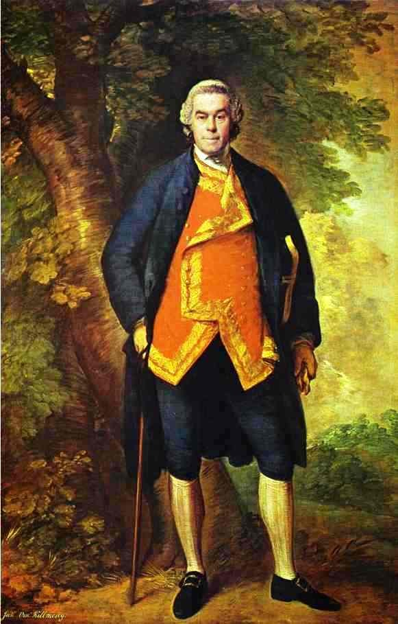 John 10th Viscount Kilmorey by Thomas Gainsborough