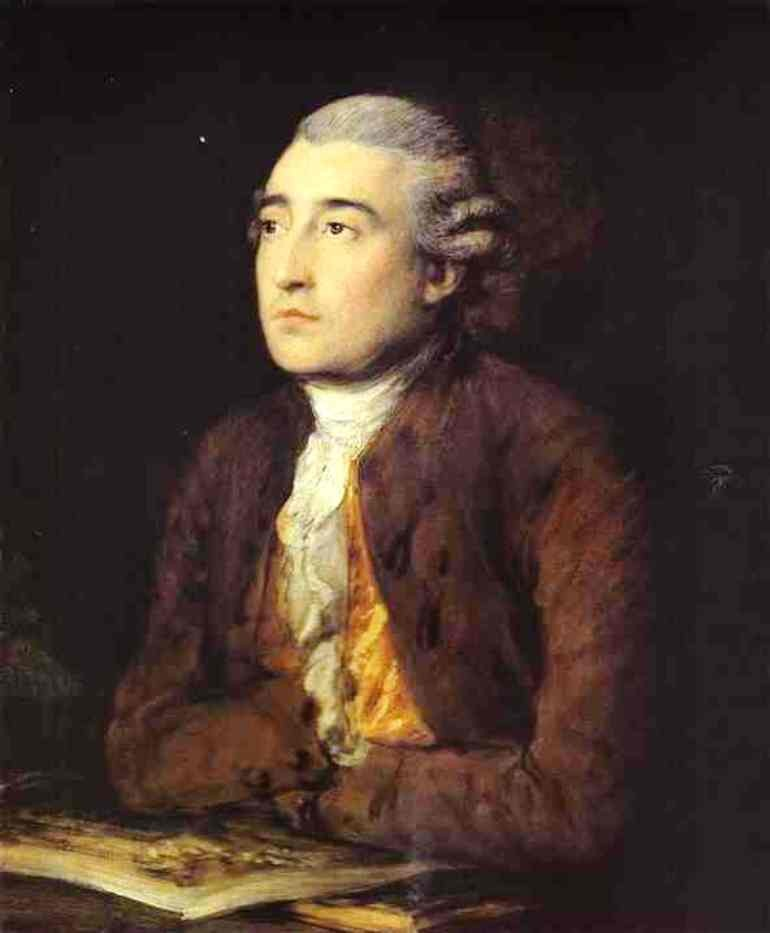 Philip James De Loutherbourg by Thomas Gainsborough