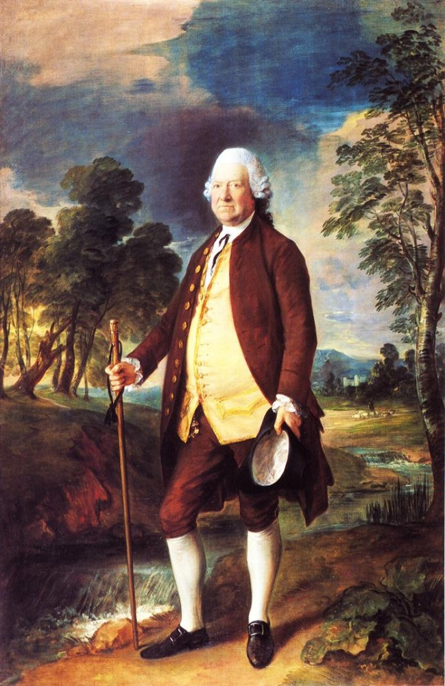 Sir Benjamin Truman by Thomas Gainsborough