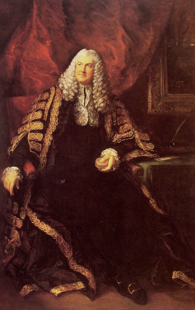 The Honourable Charles Wolfran Cornwall by Thomas Gainsborough