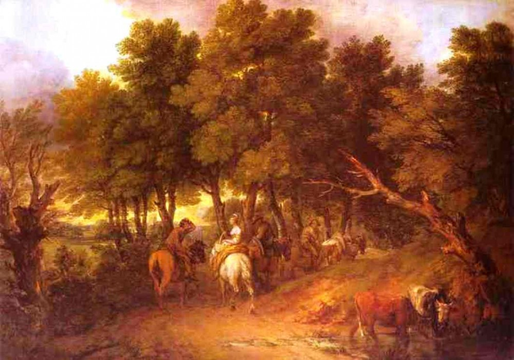 Peasants Returning From Market by Thomas Gainsborough
