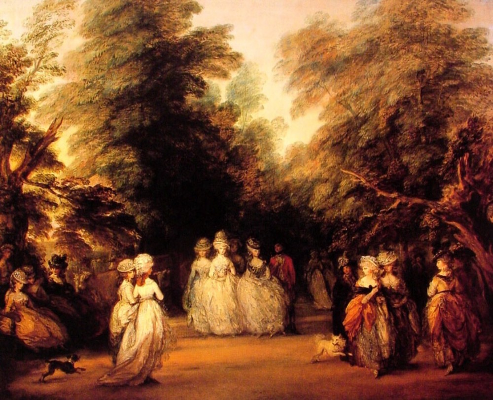The Mall by Thomas Gainsborough