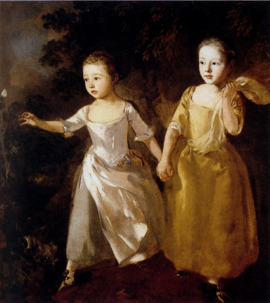 Painter's Daughters by Thomas Gainsborough